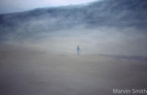 Beach Walk by Marvin Smith