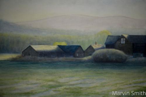 Fir Island Dawn by Marvin Smith