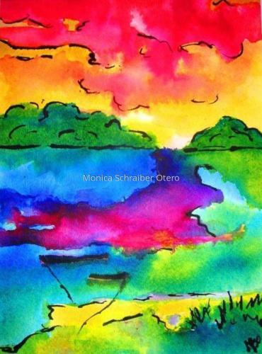 Marsh Melody by Monica Schraiber Otero