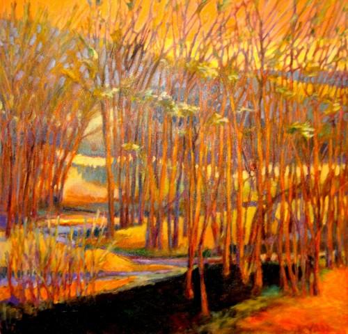 Orange Zest by M.S.Ryan Fine Arts
