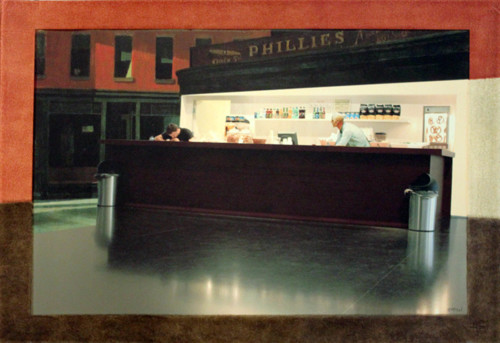 Nighthawks at the Israel Museum