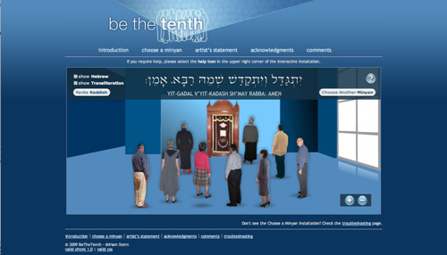 Be The Tenth (Online Interactive Website)