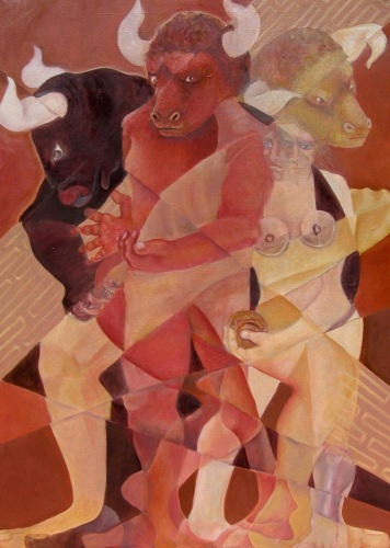 Ariadne and the Minotaur