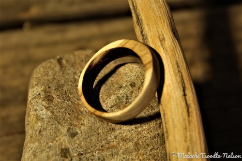 Redbud Wood Ring
