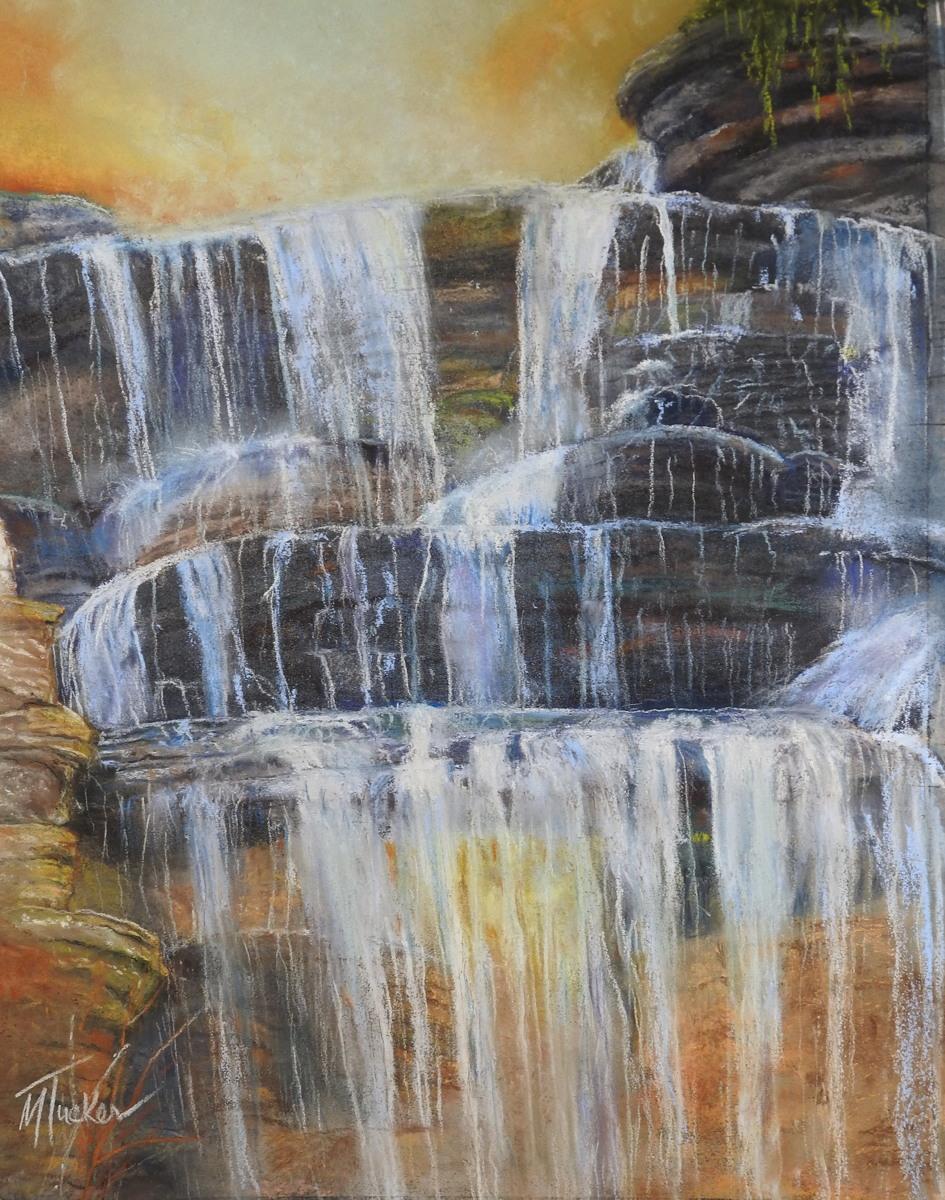 Falls at Dogwood Canyon (large view)