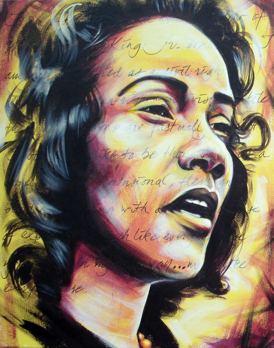 Coretta Scott (large view)