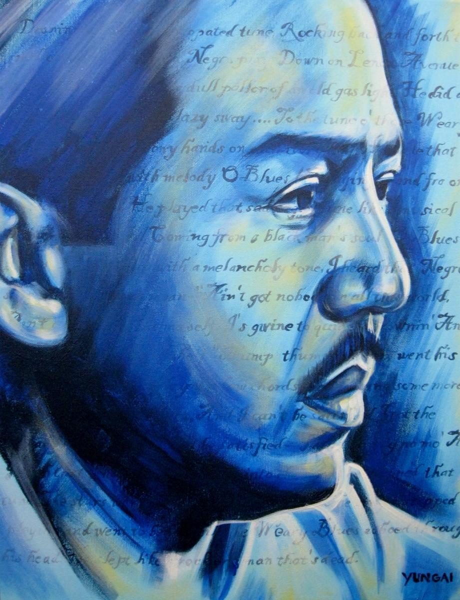 Langston Hughes (large view)