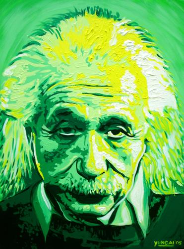 Albert Einstein (large view)