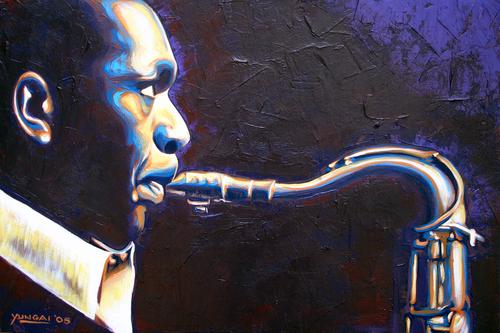 John Coltrane (large view)