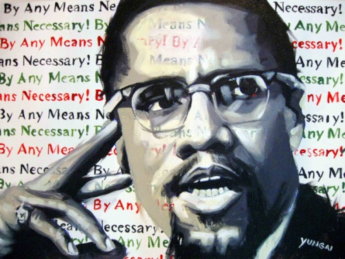Malcolm X (large view)