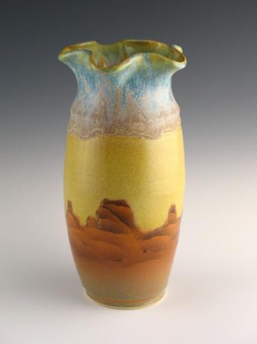 Red Rock Vase