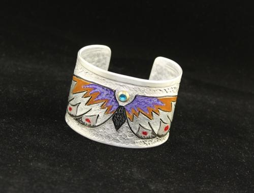 Southwest Butterfly Cuff Bracelet