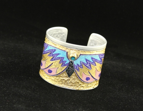 Golden Butterfly Cuff Bracelet