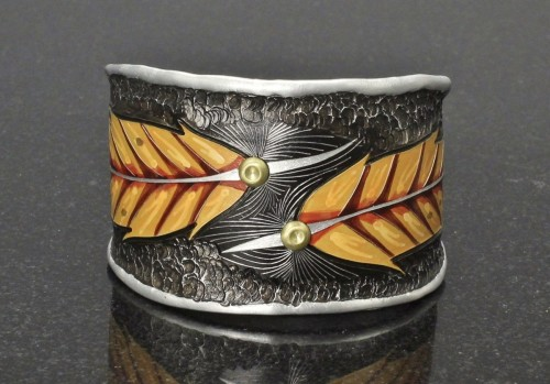 Red-Tail Hawk Feather Bracelet