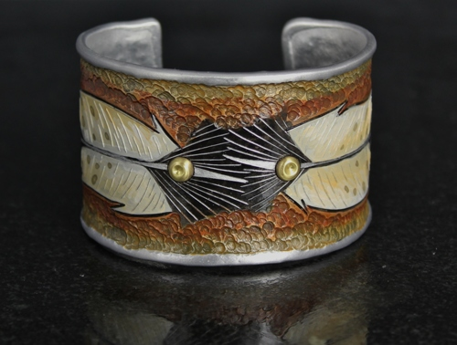 Eagle Feather Cuff Bracelet