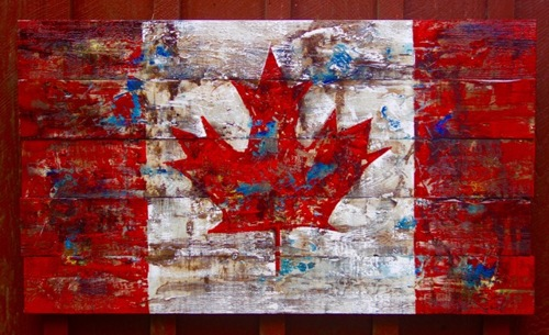 Canadian Flag (large view)