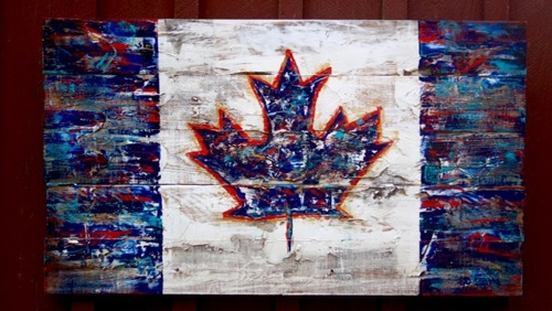 Large Canadian Flag (large view)