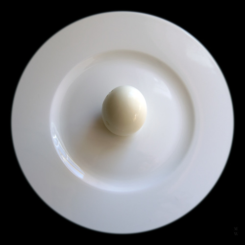 Saucer with Egg