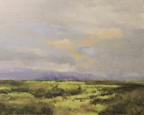 Mountain Rain by Lyle Collister