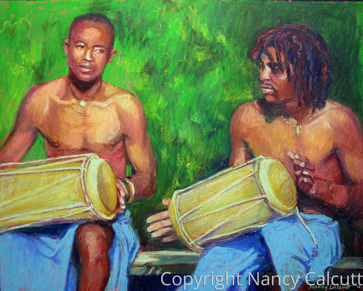 African Drummers (large view)