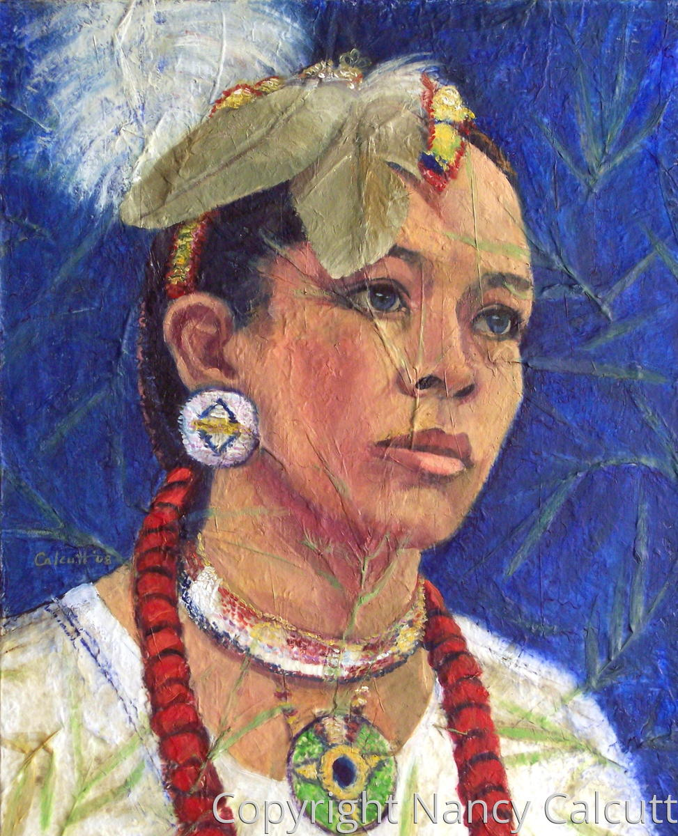 Native American Woman (large view)