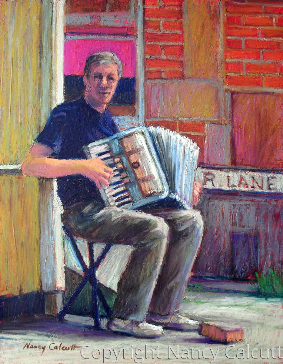 Accordion Player (large view)