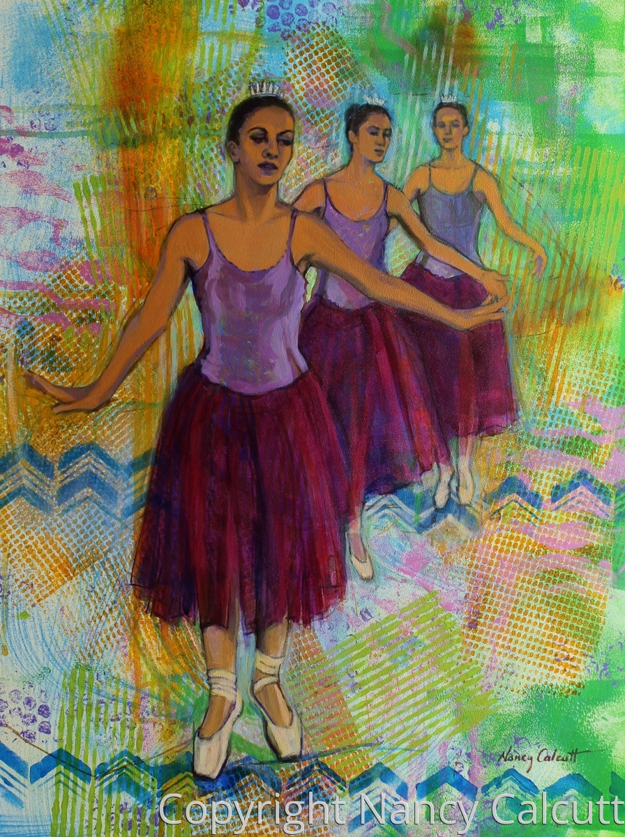 Three Ballerinas (large view)
