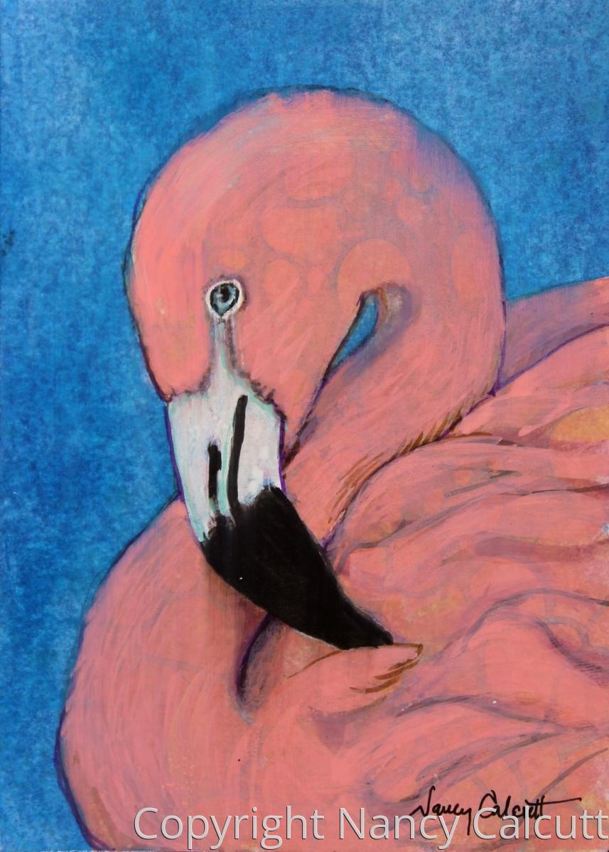 Pink Flamingo (large view)