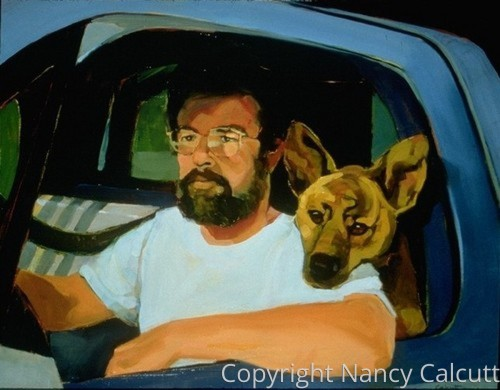 A Man, His Dog & His Truck