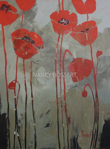 Poppy Parade by Nancy Bossert