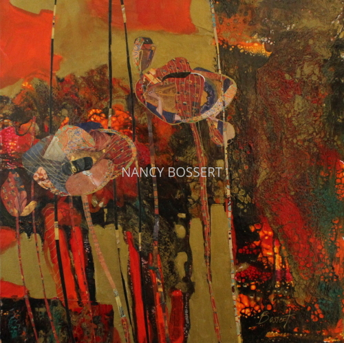 Tapestry Poppies by Nancy Bossert