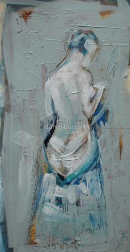 Female in Blue