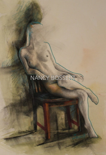 Black Chair Figure