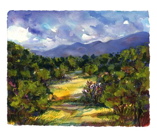 Galisteo Basin Landscape