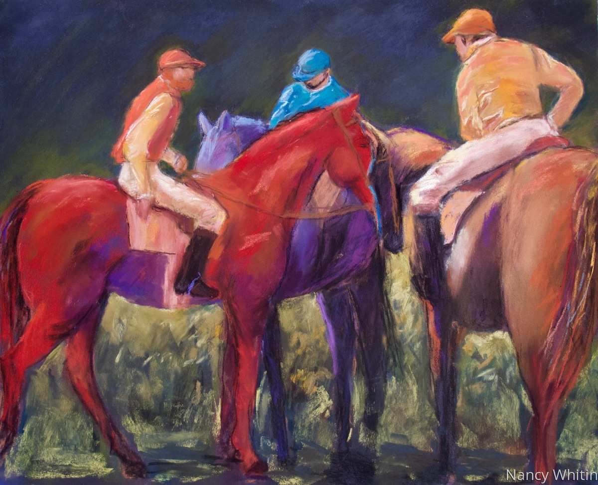 Horses and Jockeys (large view)