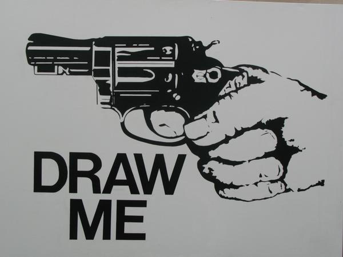 Draw The Gun (large view)