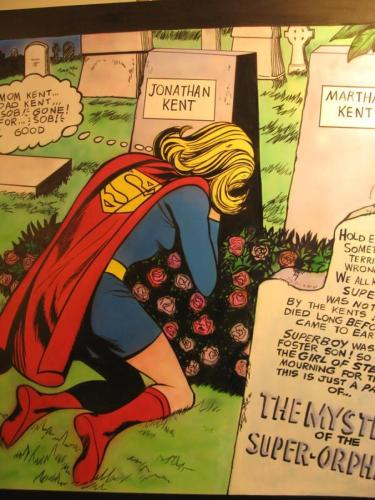 Mourning Supergirl