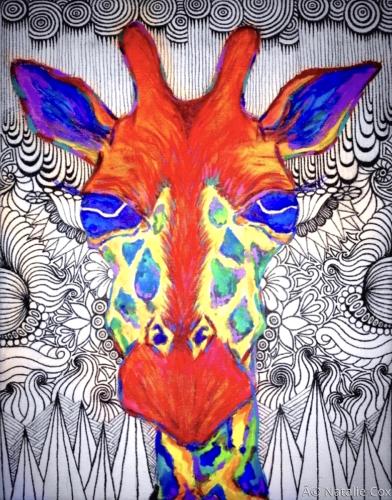 Giraffe by Natalie Cox