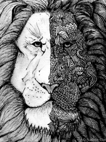 Lion by Natalie Cox