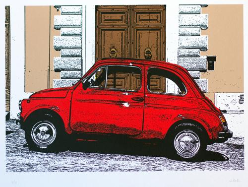 101 : Roma : Fiat 500