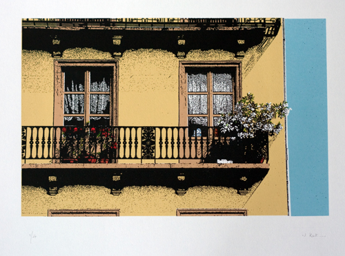386 : Nancy - Balcony (Rue des Dames)