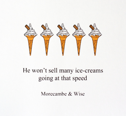 468 : Morecambe & Wise : Ice Creams