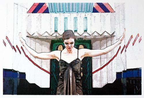 536 : Art Deco Ballerina