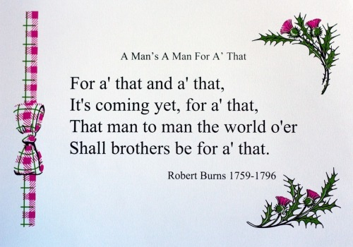 282 : Robert Burns - A Man's a Man for A' That