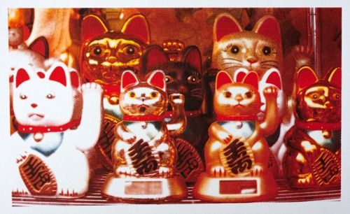 456 : London - Chinatown, Chinese Lucky Cats