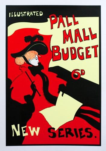 673 : Art Nouveau - Pall Mall Poster