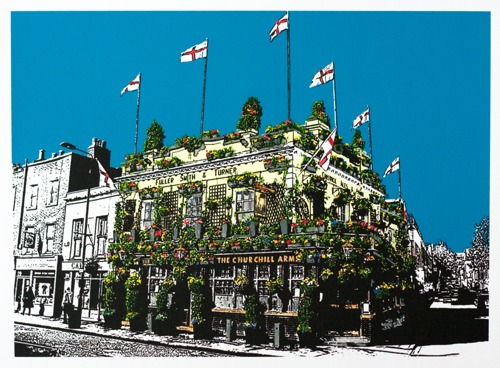 394 : London - The Churchill Arms, Kensington