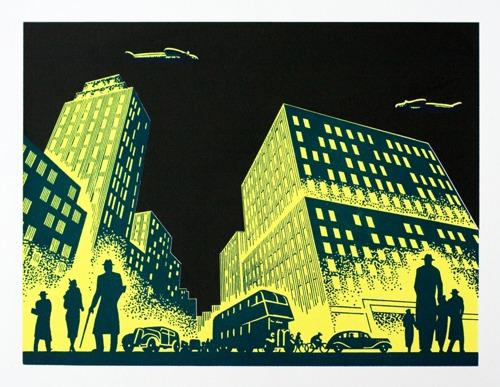 431 : Art Deco Cityscape