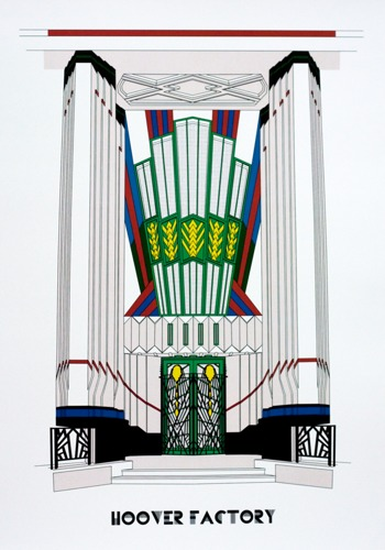 654 : Art Deco - Hoover Factory, London
