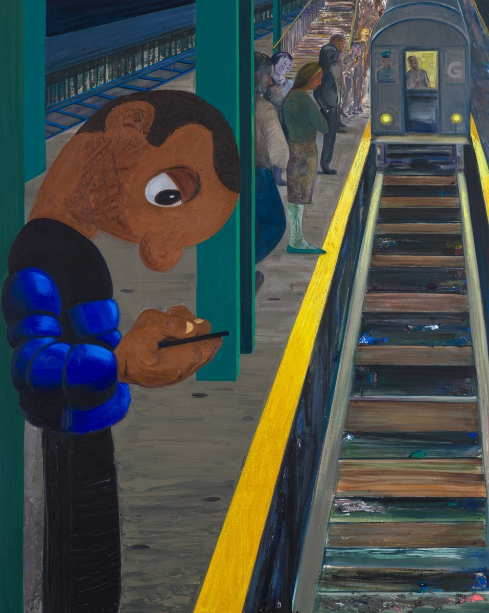 Subway 2 by Nicole Eisenman